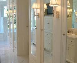 traditional bathroom decorating ideas. Transitional Bathroom Closet Doors Cool Mirror Technique San Francisco Traditional Decorating Ideas With Armoire Built Ins Cl