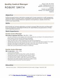 Audit Manager Resume Samples Quality Control Manager Resume Samples Qwikresume