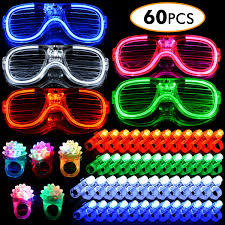 Glow Light Toys Wesimplelife Glow Flashing Toys Led Light Up Toys Party Pack