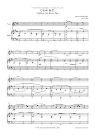 pachelbel canon violin sheet music 395828 pachelbel canon in d violin i piano