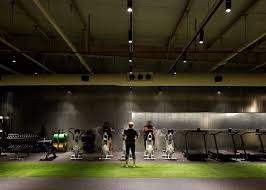 Fitness Club Design Lab100 Design Studio Creates Kuwait Boxing Gym