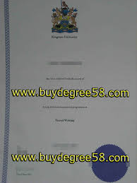 Buy buydegree58 Kingston Fake Diploma To University Where
