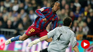 14 years since the exhibition of Ronaldinho in the Bernabéu