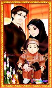 Image result for suami, isteri dan seorang anak