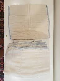 Osocozy Indian Cotton Prefold Cloth Diapers Unbleached