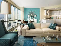 Small Picture Multiple shades of teal and an accent wall that borders on auqa
