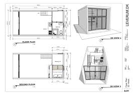 i will draw your floor plan elevations roof plan and sections