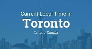 Canadian City Distance Chart Current Local Time In Toronto Ontario Canada