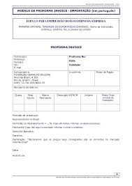 Provisional Invoice Simple Proforma Invoice Blue Thedailyrover Com