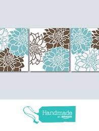 teal brown bedroom wall art blue brown floral wall art brown aqua floral wall on blue brown wall art with home decor wall art teal and brown flower canvas burst art prints