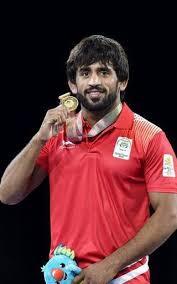 Image result for bajrang punia first medal