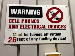 Why Turn Off Phone At Gas Station Not Use Cell Phone