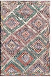 pasargad vintage kilim collectoin hand woven lamb s wool area rug 6 x9 8 southwestern area rugs by pasargad home