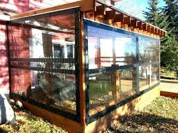 restaurant patio enclosures plastic vinyl curtains for patio dubious clear plastic walls restaurants screen porch enclosure