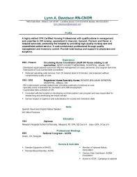 Resume For New Nurse Sample Resume Letters Job Application