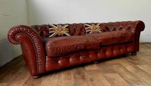 f50 1042 victorian style tetrad grand blenheim chestnut brown leather chesterfield sofa