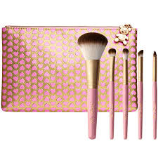 too faced pro essential teddy bear hair brush set