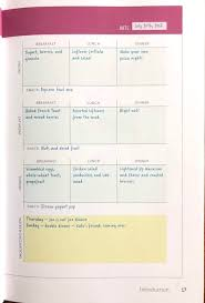 Planned Meals For A Week 52 Week Meal Planner Workbook The Ultimate Meal Planning Resource