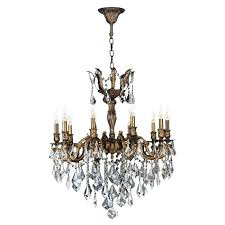 bronze and crystal chandeliers light antique bronze finish and clear crystal chandelier oil rubbed bronze crystal