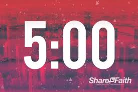 5 Minute Countdown Timer For Powerpoint Red City Church 5 Minute Countdown Timer Video Church