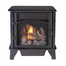 gas stove 3 sided black dual fuel with remote control 23 000 btu