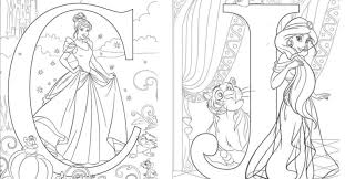 This interesting coloring page will help your child learn how to use the alphabet i. You Can Get Free Printable Disney Alphabet Letters For Your Kids To Color