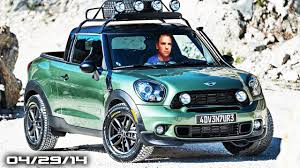 MINI Pickup Truck Looks Awesome! - Fast Lane Daily - YouTube