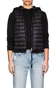 Moncler Ruffled-Hem Down-Quilted Vest | Barneys New York & Moncler Ruffled-Hem Down-Quilted Vest - Jackets - 505484942 Adamdwight.com