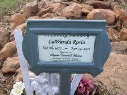 LaWanda Rosin (1977-2011) - Find A Grave Memorial