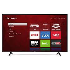 sony smart tv. tcl 55\u201d class 4k (2160p) hdr roku smart led tv (55s401) sony tv