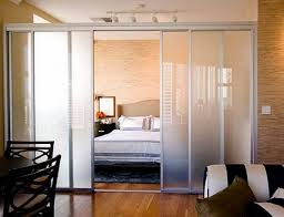 beautiful glass room divider ideas for studio residences