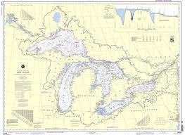 Noaa Nautical Chart 14500 Great Lakes Lake Champlain To