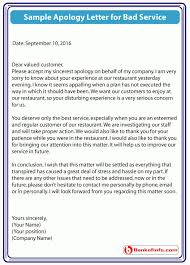 Customer Apology Letter Examples Ideas Of Apology Letter to Customer] Apology Letter Examples Sample 72
