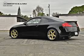 infiniti g35 coupe 2005. 2005 infiniti g35 coupe on 19u0026quot vertini drift gold chrome lip lowered eibach springs by audio city wheels flickr 5