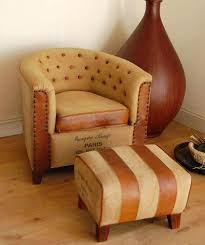 leather chair and foot stool cream leather swivel chair and footstool