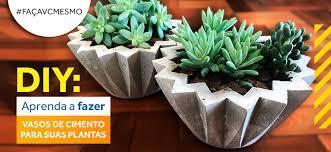 Compre online par de vaso parede linea 50 japi linea cimento na amazon. Aprenda A Fazer Vasos De Cimento Para Suas Plantas Almeida Materiais