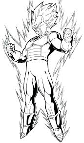 Dragon Ball Z Super Saiyan 5 Coloring Pages Super 5 Coloring Pages