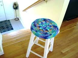 bar stool cushion covers round outdoor seat cover pattern vinyl target padded elastic kitchen magnificent cov