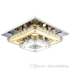 2018 modern crystal led ceiling lights bedroom living room plafond lamp surface mounting ceiling chandeliers transpa amber crystal from zhiyuanlighting
