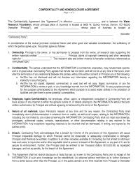 9+ Non-Disclosure Confidentiality Agreement Examples - Pdf