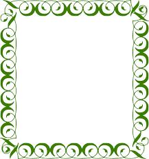 Download Green Border Frame Png Picture For Designing