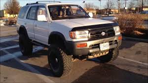 1997 Toyota 4Runner lifted 6 inches on 35s - YouTube