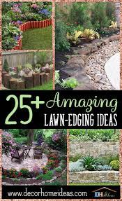Landscape Edging Design Ideas 25 Amazing Lawn Edging Ideas For Your Garden Lawn Edging