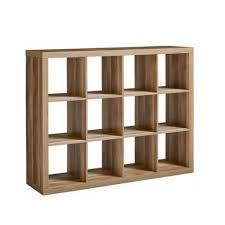details about cube storage unit weathered wooden 12 cubby organizer bin box cubicle furniture
