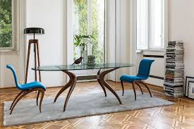 Retro Dining Tables Dashing Duo Trendy New Dining Tables Usher In Geometric Contrast