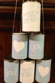 Love Wedding Decorations Tin Cans Turned Into Wedding Car Decorations Ringgold Wedding