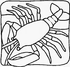 Small Picture Lobster coloring page Animals Town Free Lobster color sheet