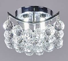 galaxy lighting 4 light chrome finish crystals chandelier square or diamond sha