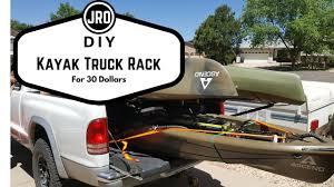 DIY Kayak Fishing Truck Rack - YouTube