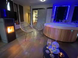 loft avec spa privé feu de bois et